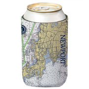 Altered Latitudes Newport Chart Standard Can Cooler (4-Pack)