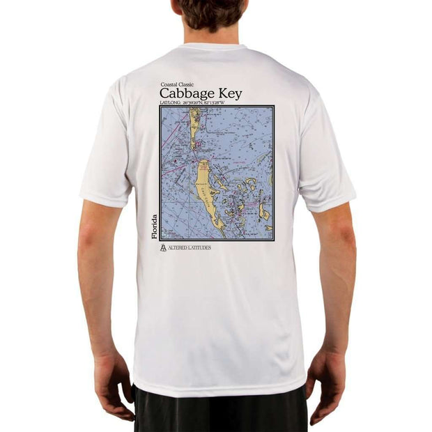 Coastal Classics Cabbage Key Mens Upf 5+ Uv/sun Protection Performance T-Shirt White / X-Small Shirt