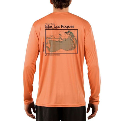 Coastal Classics Islas Los Roques Mens Upf 5+ Uv/sun Protection Performance T-Shirt Shirt