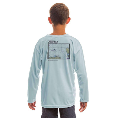 Coastal Classics Alcatraz Youth UPF 5+ UV/Sun Protection Long Sleeve T-Shirt - Altered Latitudes