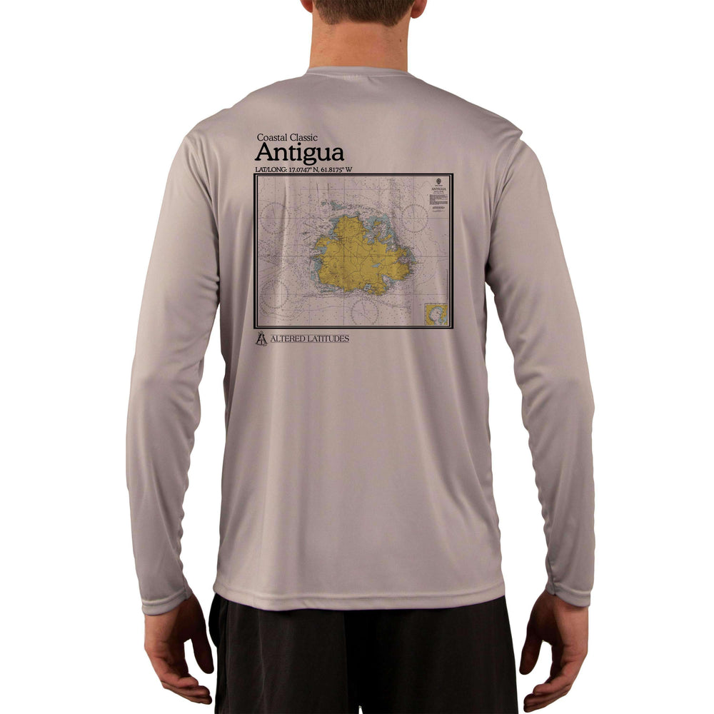 Coastal Classics Antigua Men's UPF 50+ Long Sleeve T-Shirt - Altered Latitudes