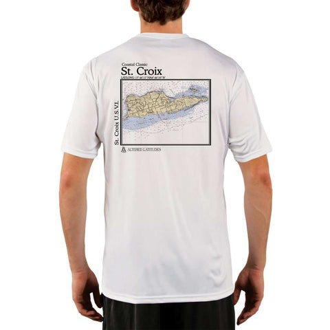 Coastal Classics Grand Bahama Island Men's UPF 50+ UV/Sun Protection Performance T-shirt