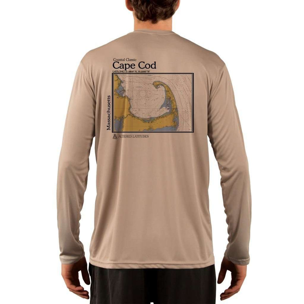 Coastal Classics Cape Cod Mens Upf 5+ Uv/sun Protection Performance T-Shirt Tan / X-Small Shirt