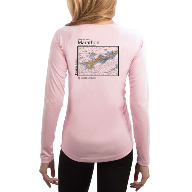 Coastal Classics Marathon Women's UPF 50+ UV/Sun Protection Performance T-shirt - Altered Latitudes