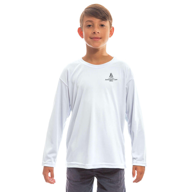 Coastal Classics Ambergris Caye Youth UPF 50+ UV/Sun Protection Long Sleeve T-Shirt - Altered Latitudes