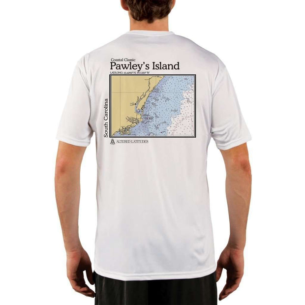Coastal Classics Pawleys Island Mens Upf 5+ Uv/sun Protection Performance T-Shirt White / X-Small Shirt