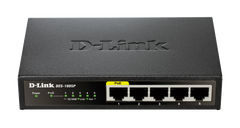 D-Link 5-PORT 10/100 METAL SWITCH WITH 1 POE PO