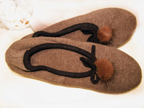 Cashmerehome Cashmere Slippers