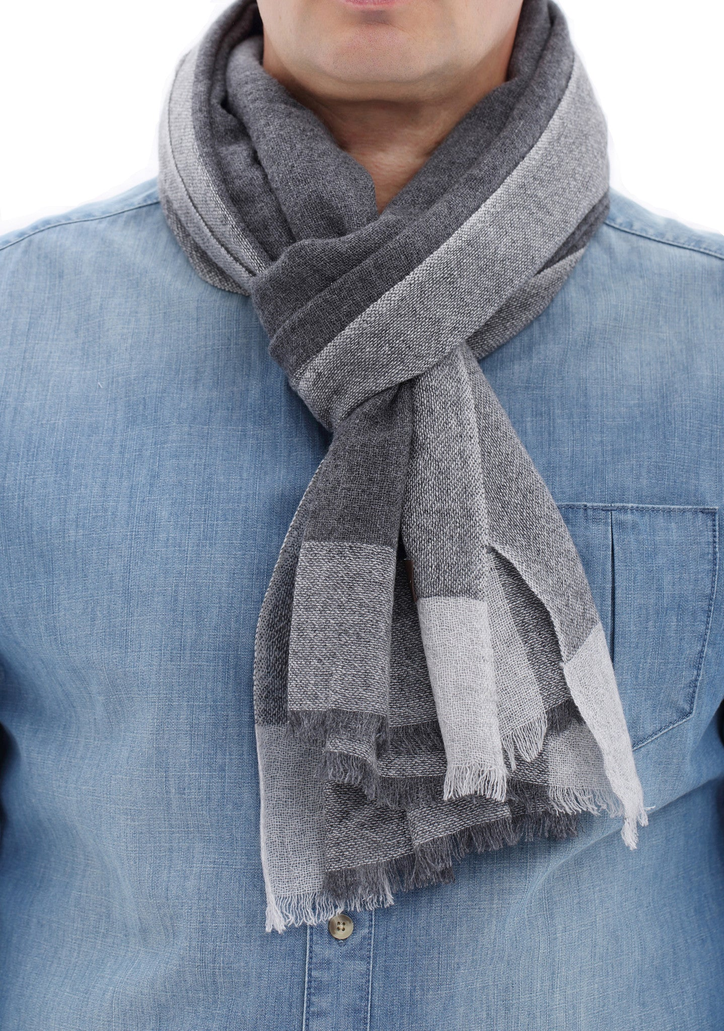 Cashmere Scarf Men CashmereHome