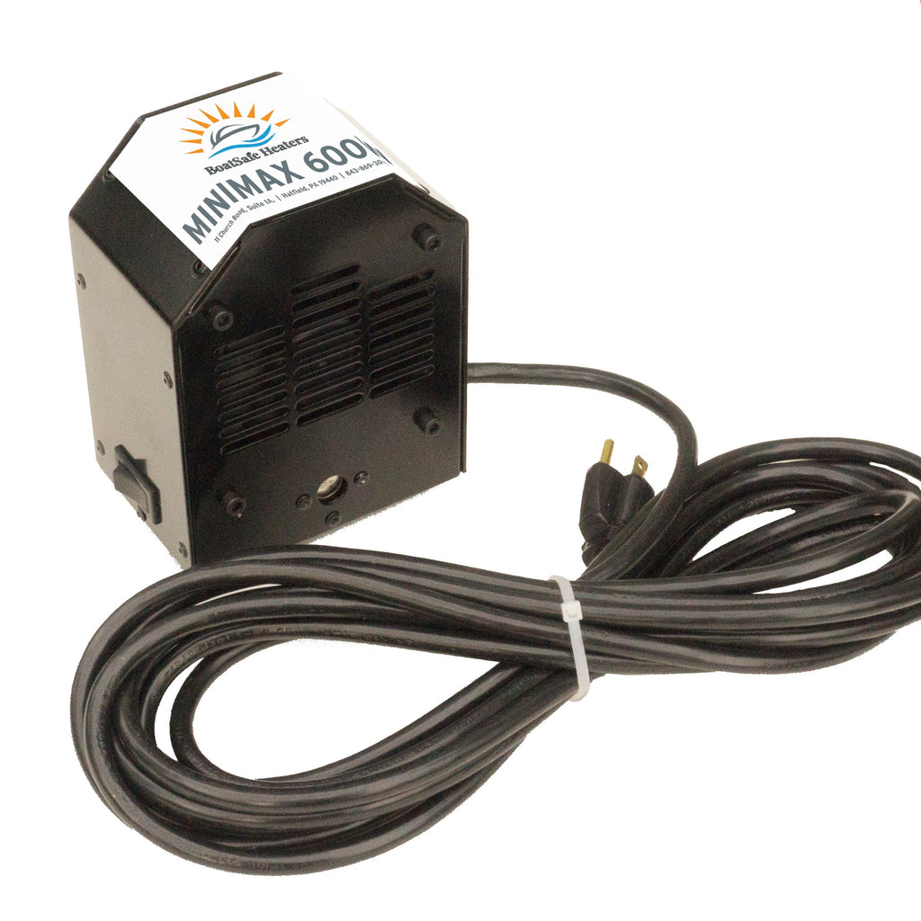 BoatSafe Mini MAX 600W Engine Heater