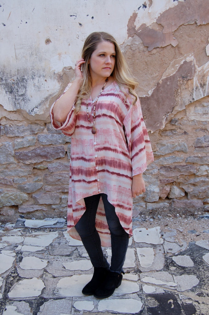 Carribean Tunic Top - Kade & Cate