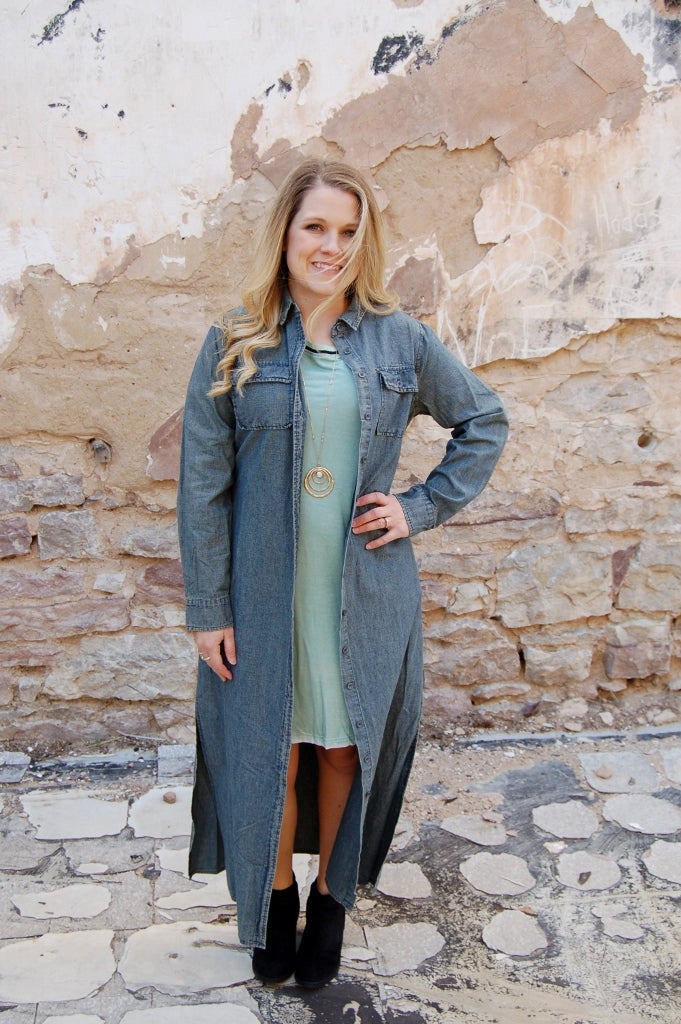 Wild West Duster/ Maxi Dress