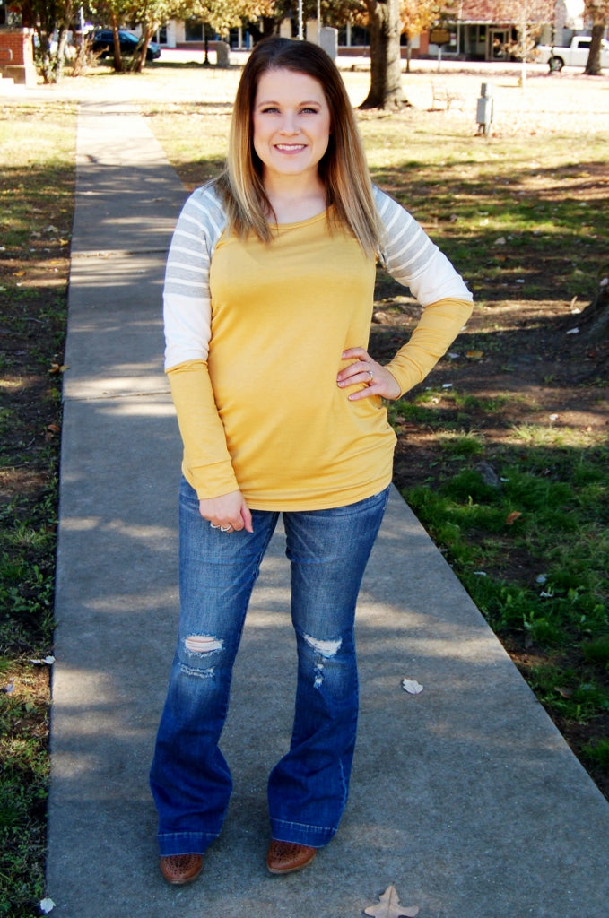 Easy Going Colorblock Top - Kade & Cate