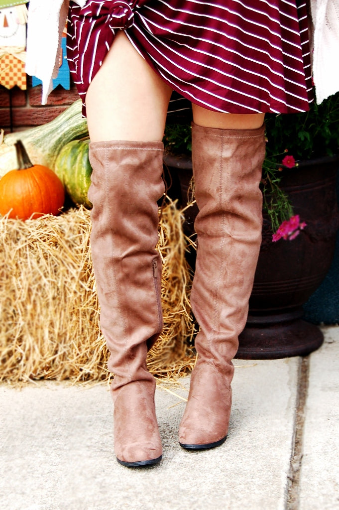 Harper Over the Knee Boot - Kade & Cate