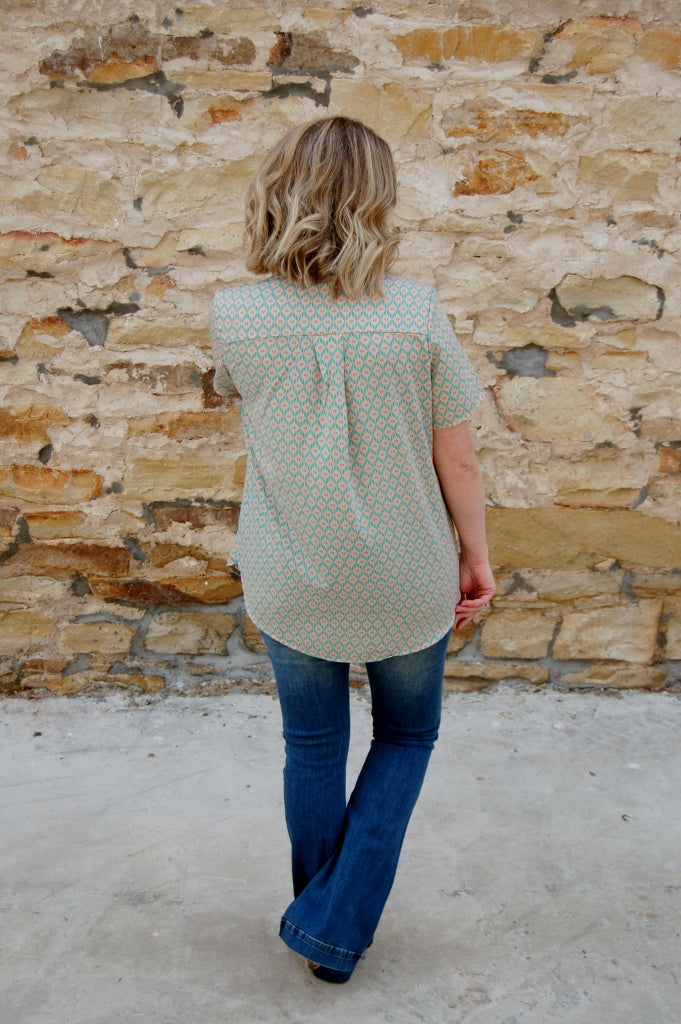 Glass Ceilings Blouse - Kade & Cate