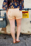 Make You Blush High Rise Denim Shorts