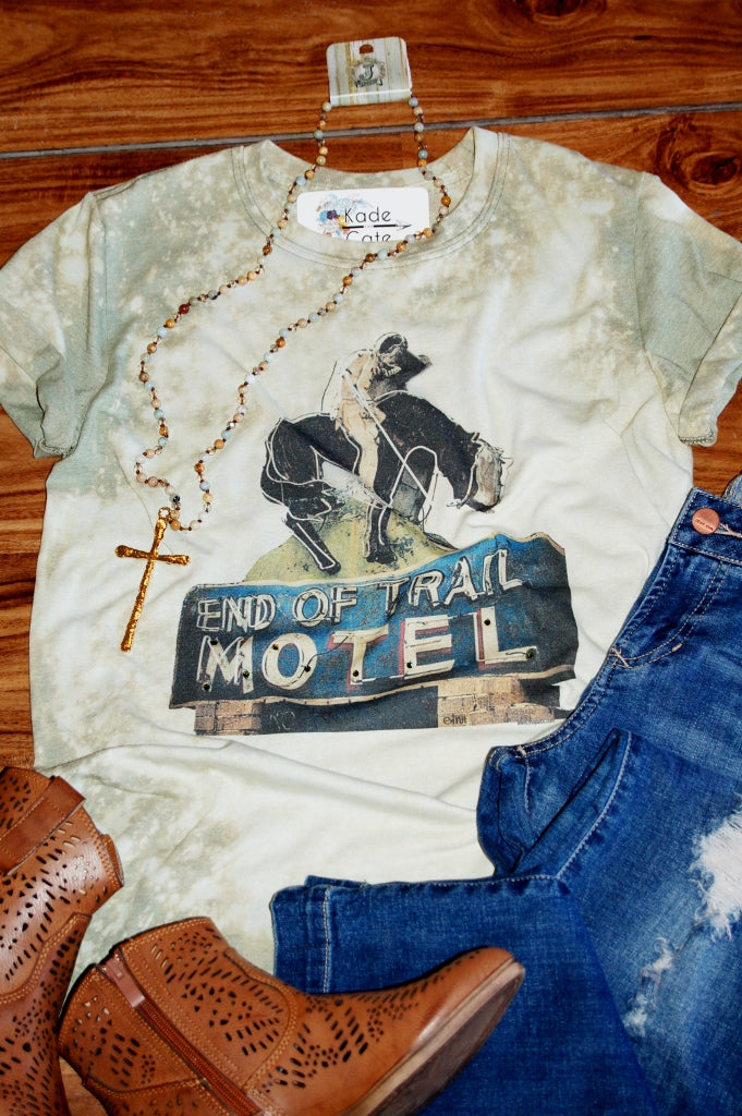 End of the Trail Motel Tee - Kade & Cate