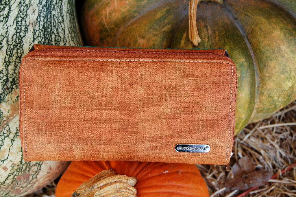 Embroidered Wallet - Kade & Cate