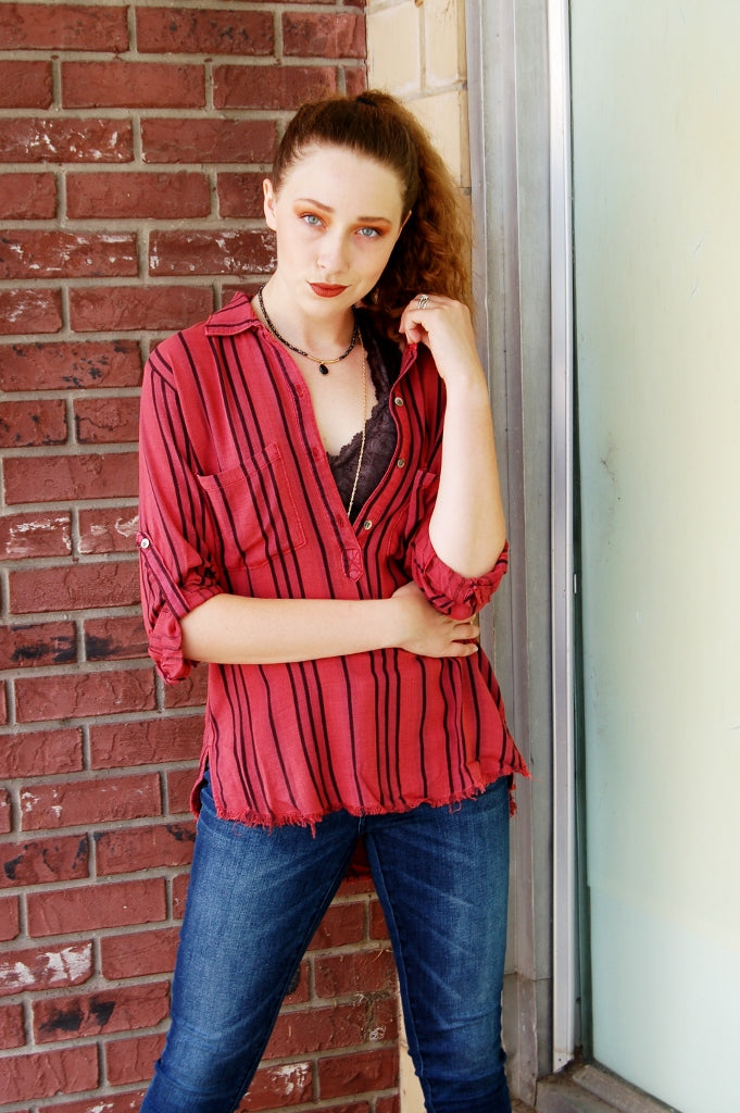 Emily Stripe Top - Kade & Cate