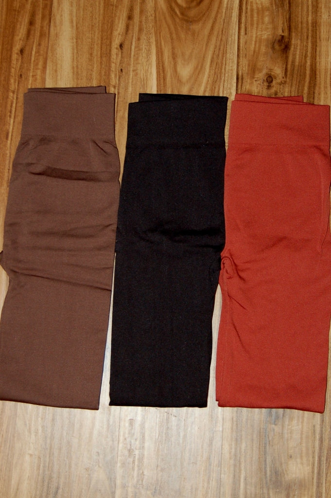 Fleece Lined Leggings - Kade & Cate