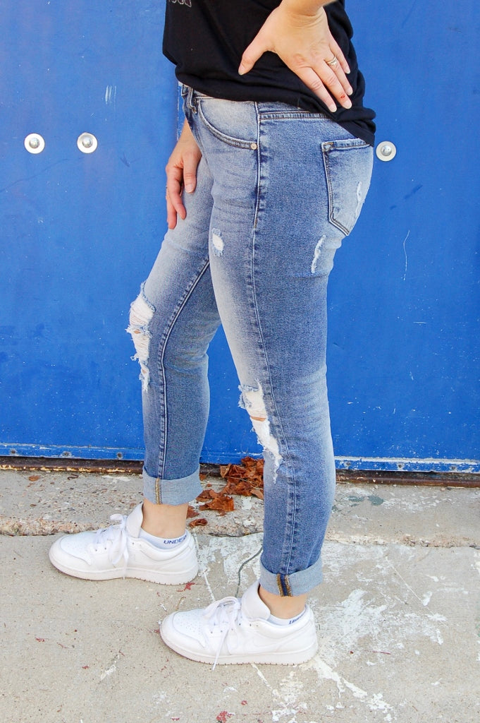 Gemma High Rise Relaxed Skinny Jean