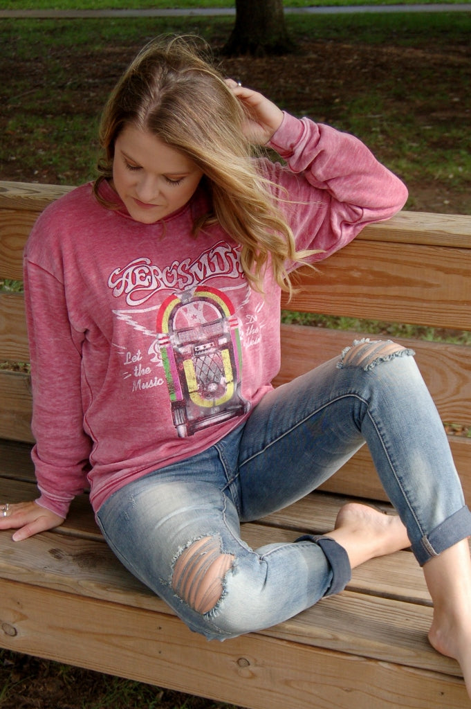 Aerosmith Jukebox Sweatshirt - Kade & Cate