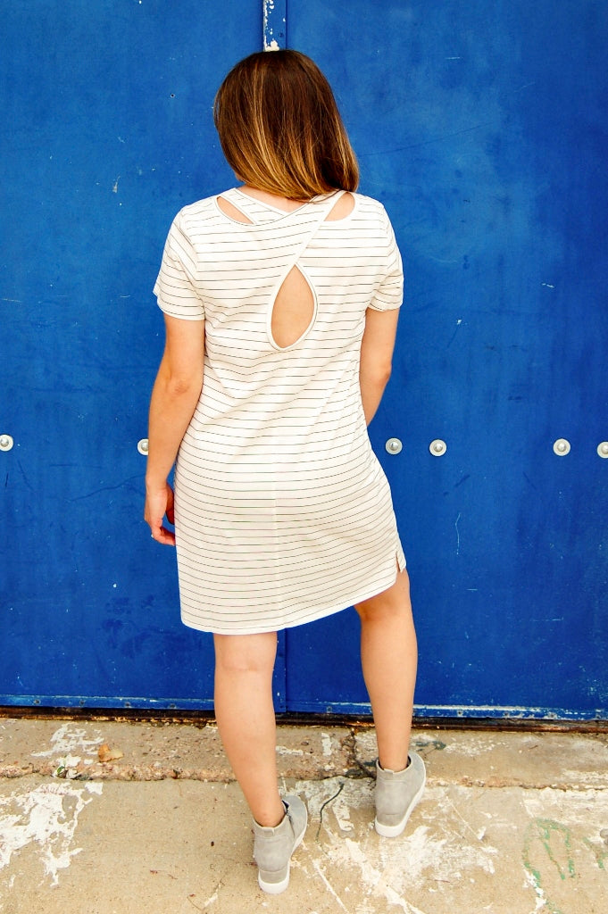 Ole Queen Cole Keyhole Back Dress