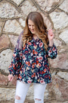 Keep it Gypsy Bubble Sleeve Top - Kade & Cate