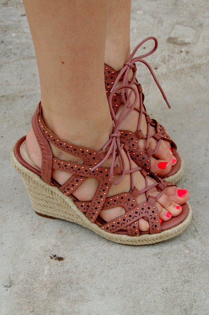 Big Pine Wedge Sandal - Kade & Cate