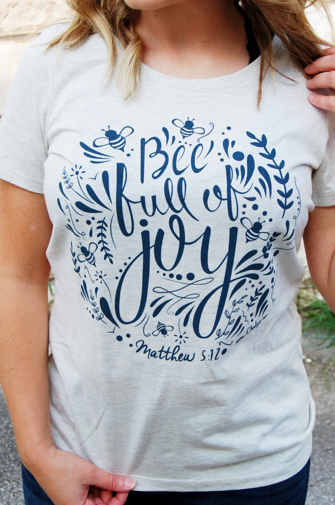 Bee Full of Joy Tee - Kade & Cate