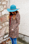 Wild Side Leopard Cardigan with Pockets - Kade & Cate