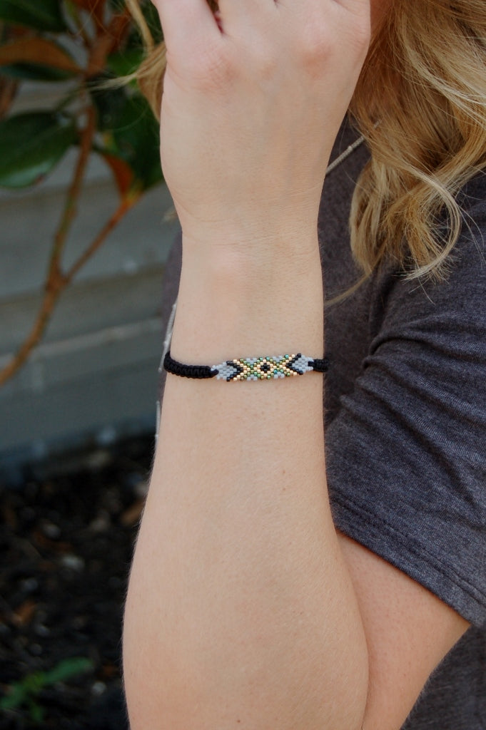 Plant the Seed Adjustable Bracelet - Kade & Cate
