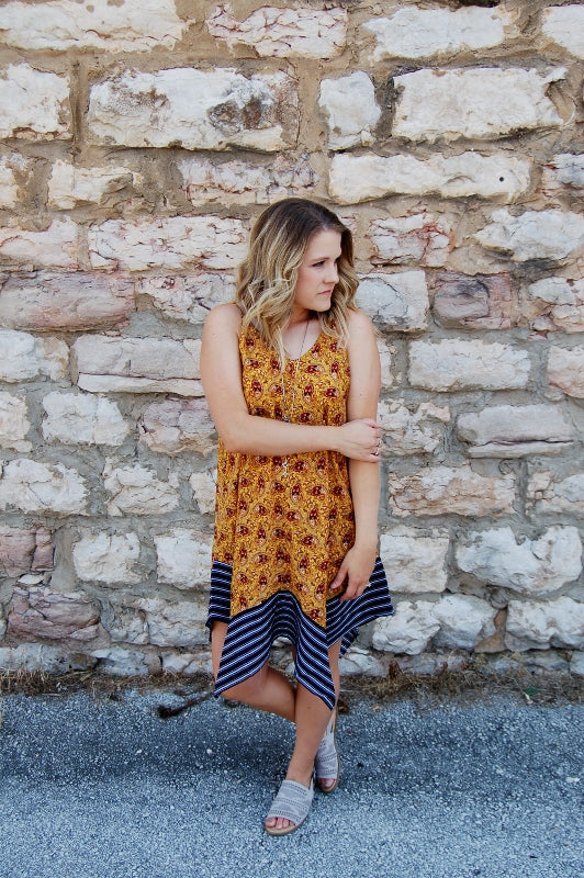 Bohemian Handkerchief Dress - Kade & Cate