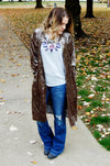 Girl Crush Velvet Cardigan - Kade & Cate