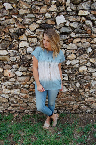 Cloud Jersey Ribbed Top