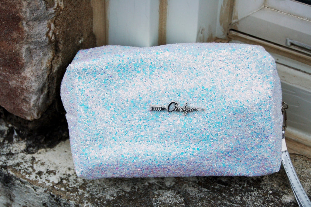 Glitter & Glam Make-up Bag/ Wristlet - Kade & Cate