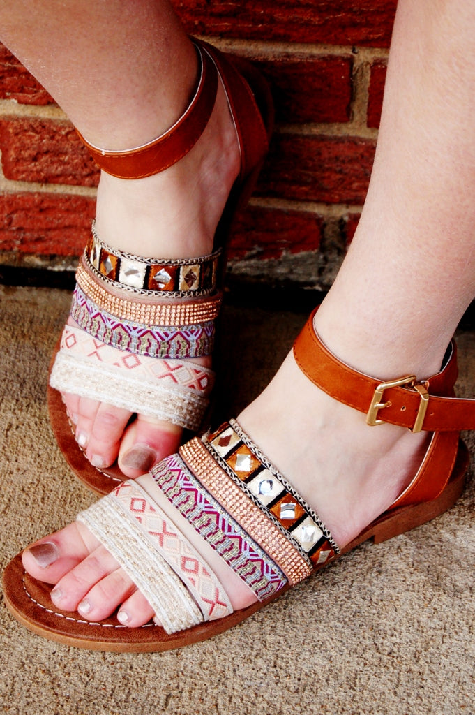 Gypsy Girl Sandals - Kade & Cate