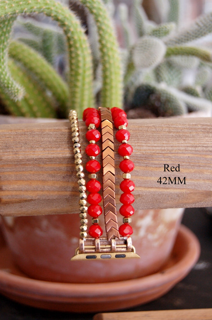 Beaded Watch Bands - Kade & Cate