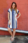 Right on Time Striped Dress