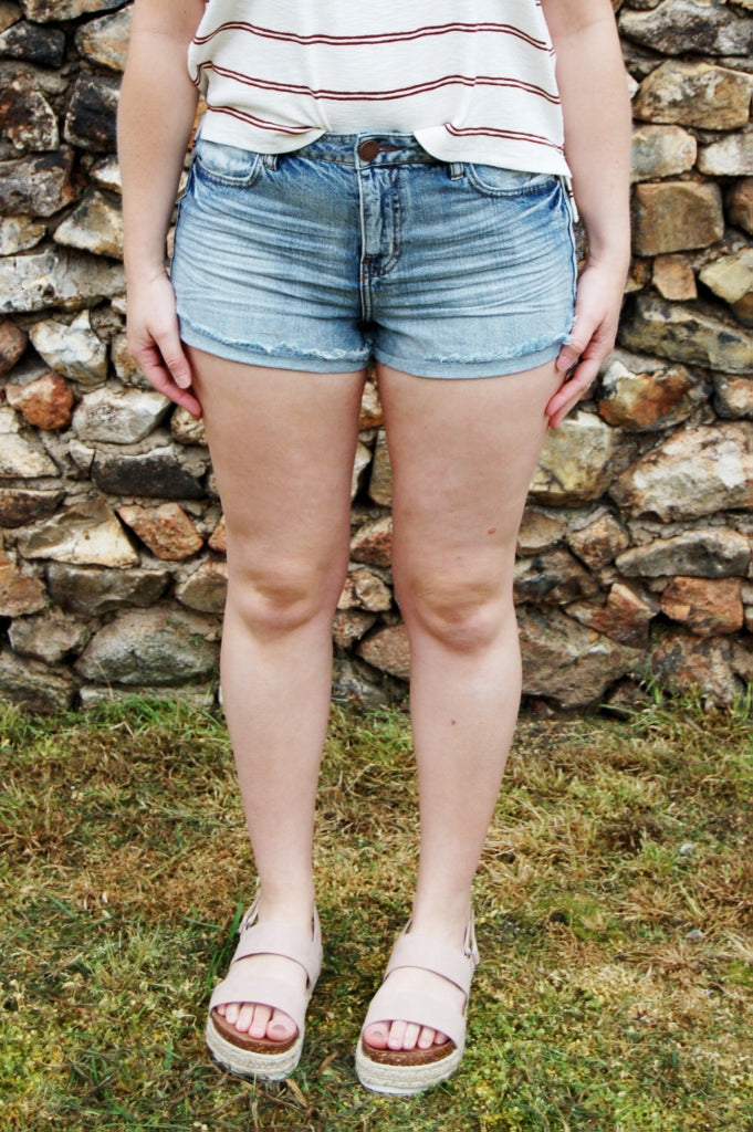 o'neill denim cutoff shorts.  summer cutoffs.  denim shorts. summer shorts.