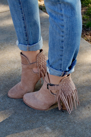 Gracelyn Laser Cut Bootie