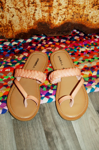 {Kids} Braided Strappy Sandal