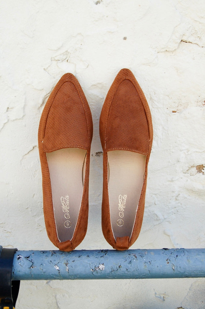 Casanova Tan Loafer Slip on Shoe