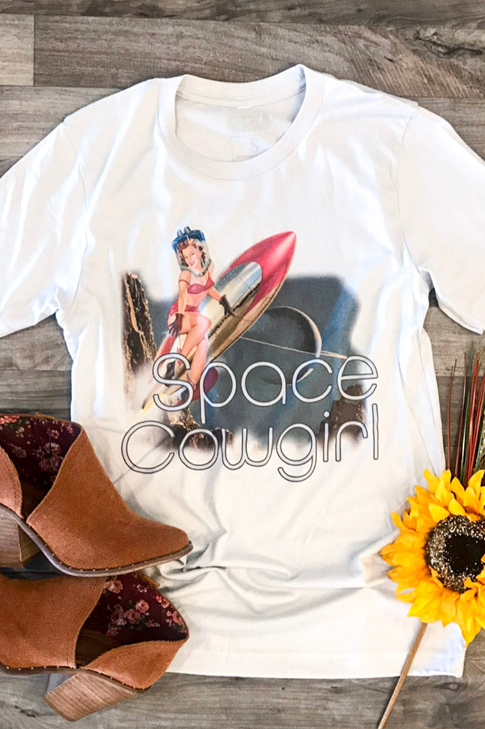 Kasey musgraves tribute tee.  retro graphic tee.  space cowgirl tee.  pin up tee.  country music tee.  gina tees.