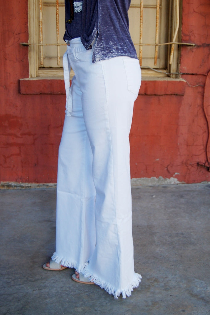 Mila Highrise Wide Leg Pants
