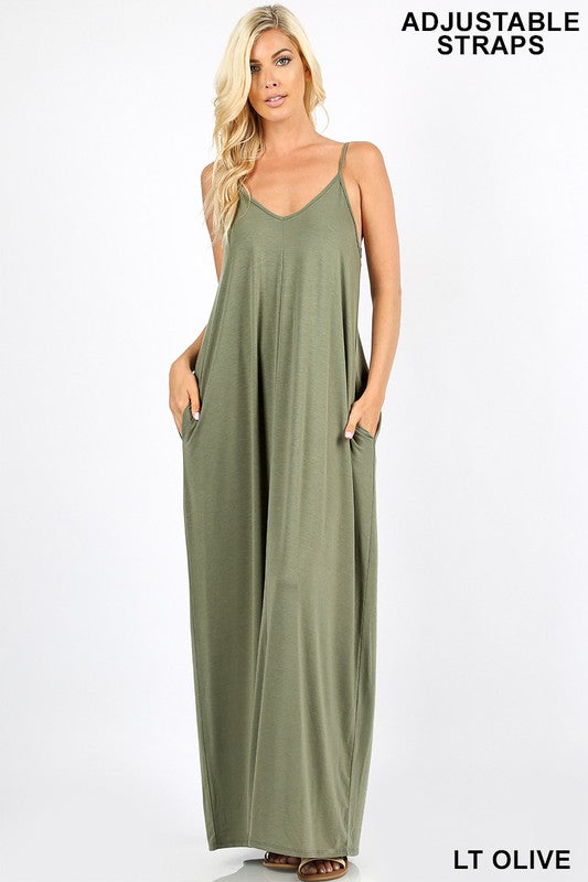Summer Lovin Maxi with Pockets - Kade & Cate