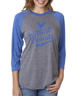 Federal Donuts Baseball Tee (Blue)