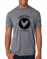 Federal Donuts Heather Gray Rooster T-Shirt