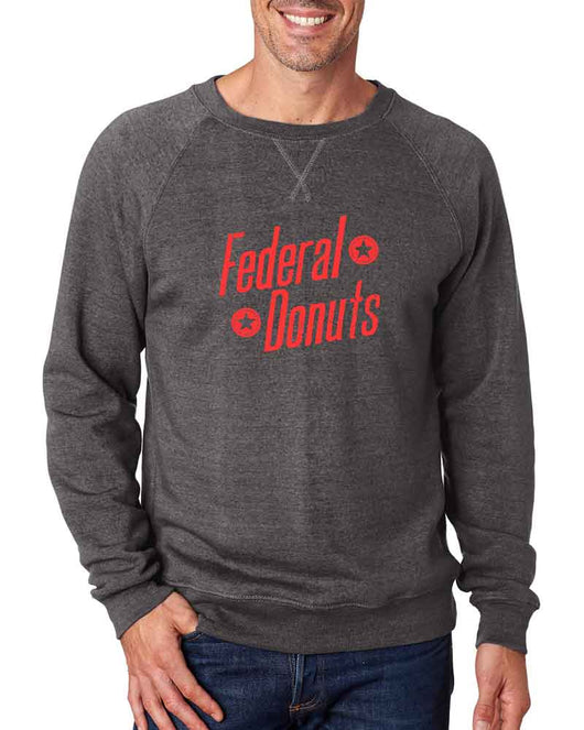 Federal Donuts Charcoal Crew Neck