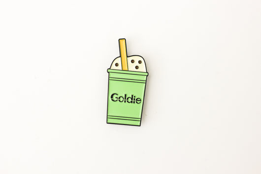 Goldie Shake Pin